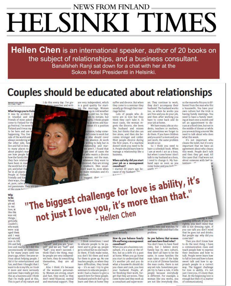 Hellen Chen business management consultant